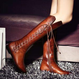 Как выбоать сапоги на шнурках
