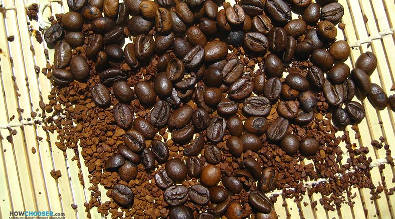 Выбор расстворимого кофе