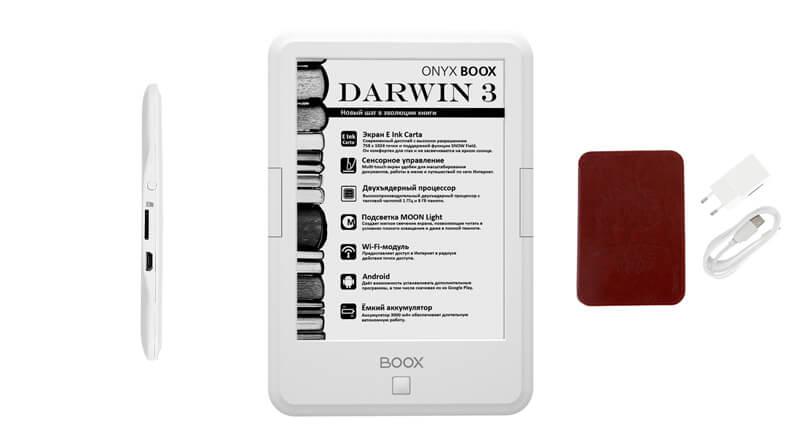 ONYX BOOX Darwin 3 обзор