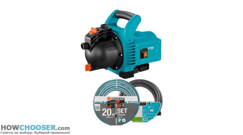 Gardena 3000/4 Classic Pump Set обзор